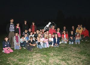 Serata astronomica a Valmala