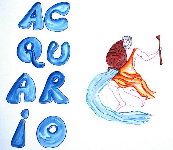 StelleOccitane  Lo Zodiaco  Acquario